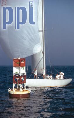 12 meter keel boat spinnaker