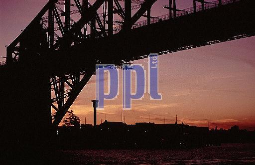 Sunset over Sydney Australia