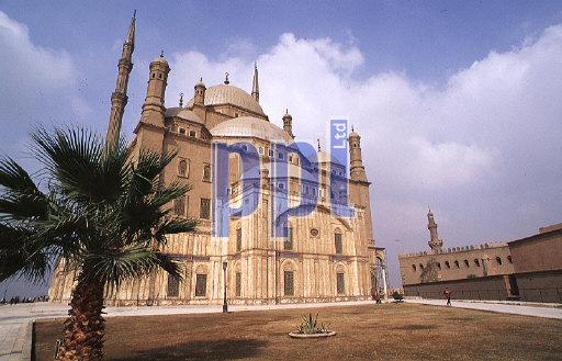 Mohamed Ali Mosque in The Salak Al-Kin Citadel Cairo Egypt