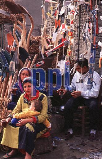 Village life outside Cairo Egypt