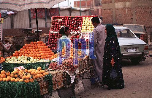 Street Bazaar Cairo Egypt