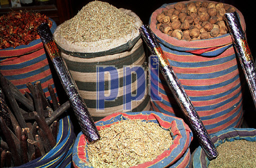 Bazaar of Khan El-Halili Cairo Egypt