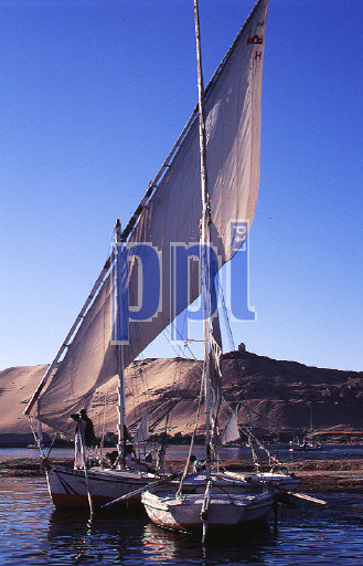 Felucca on the River Nile Egypt