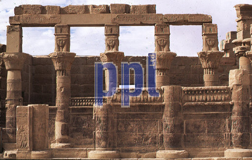 Temple of Philae South of Aswan Egypt