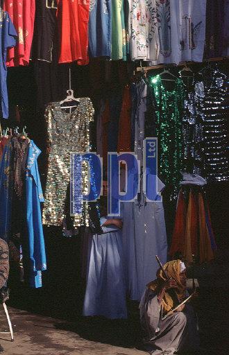 Tourist Bazaar Edfu Egypt