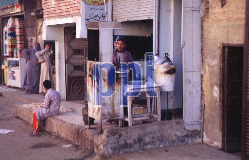 Local life in Edfu Egypt