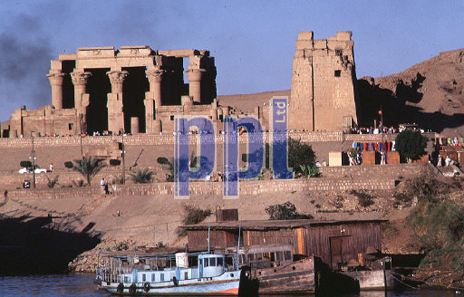 Temple of Kom Ombo by the Nile Egypt