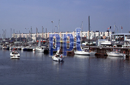 Calais Harbour, France