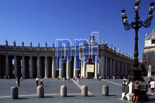St Peter Square The Vatican Rome Italy
