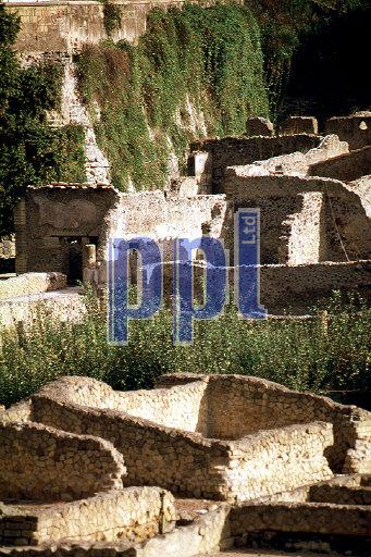 Ruins of Herculaneum Ercolano Italy
