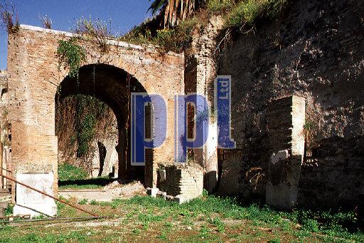 Triumph Arch to main street Herculaneum Italy