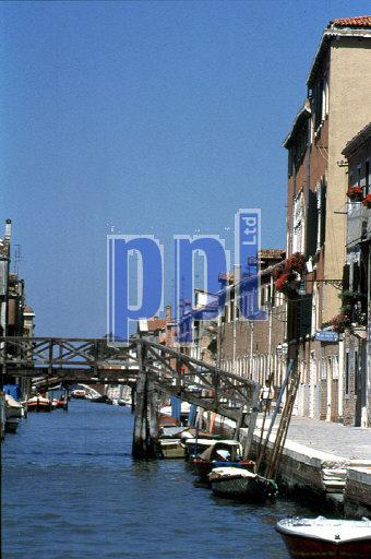 St Alvise Canal Venice Italy
