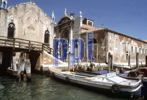 Noale Canal Venice Italy