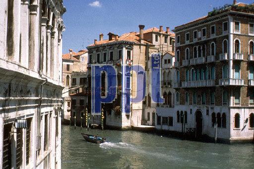 Rialto Bridge Shops Venice Italy