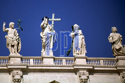 Aspects of the Basilica of St Peter The Vatican Rome Italy