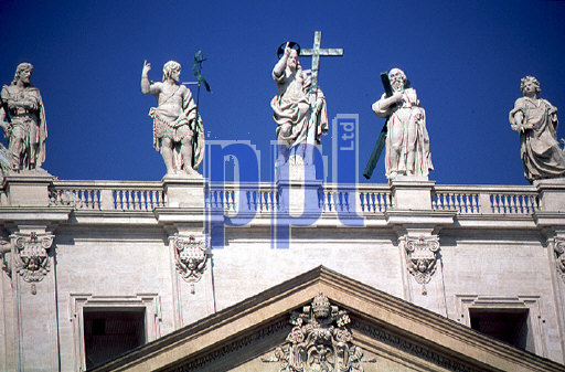 Aspects of the Basilica of St. Peter The Vatican Rome Italy