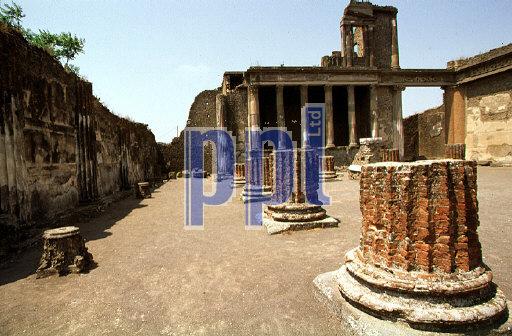 Forum di Pompeii Pompeii Naples Italy