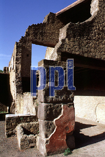 Two storey house Herculaneum Italy