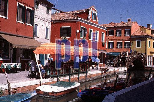 Burano Island Venice Italy