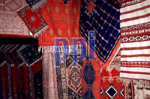 Souvenirs for sale Casablanca Morocco