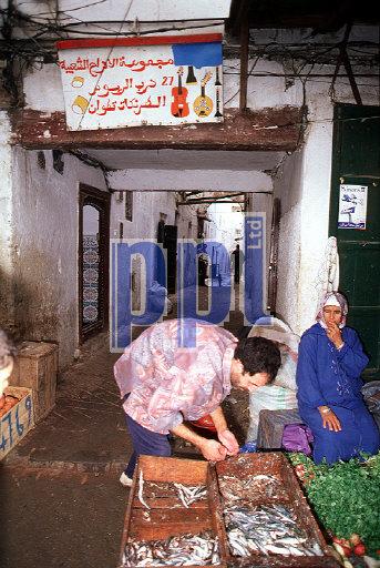 Souk Tetouan Morocco