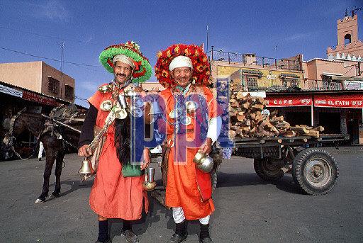 Jamaa El Fna (main square) Marrakech Morocco