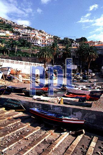 Camara de Lobos Fishing village Madeira Portugal