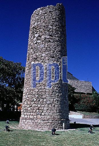Ancient lighthouse Cartagena Spain
