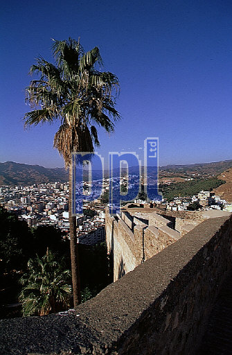 Historic Gibralfaro Fortress, Cartagena, Spain