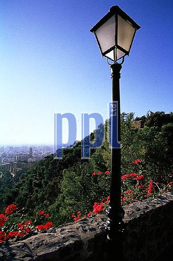 Gibralfaro Fortress Malaga Spain